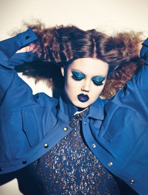 Lindsey Wixson by Theo Wenner for Self Service SS 2013 1