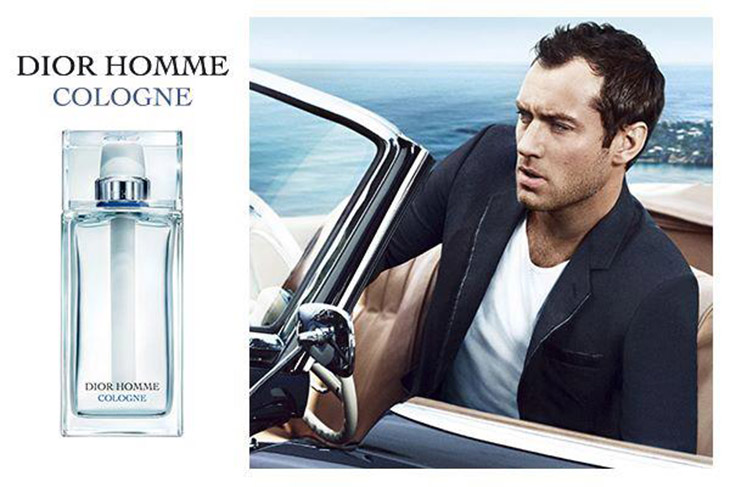 jude law dior homme cologne ad