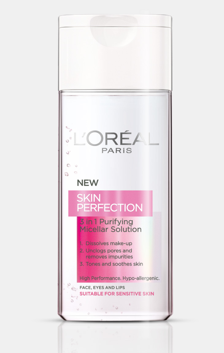 l'oreal micellar solution