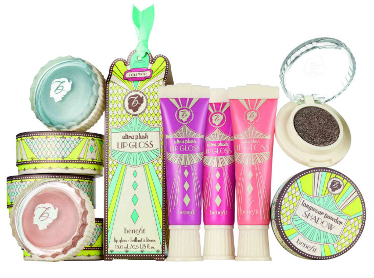 benefit color collection art deco