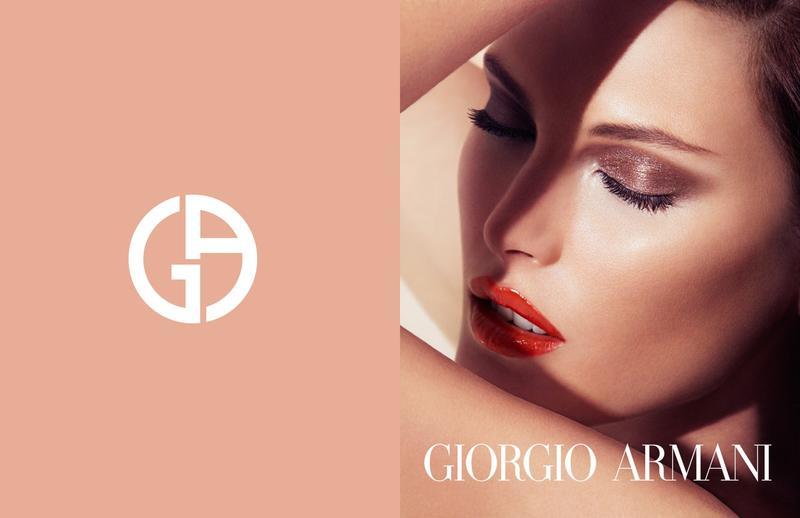 catherine mcneil for giorgio armani beauty s s 2013. Black Bedroom Furniture Sets. Home Design Ideas