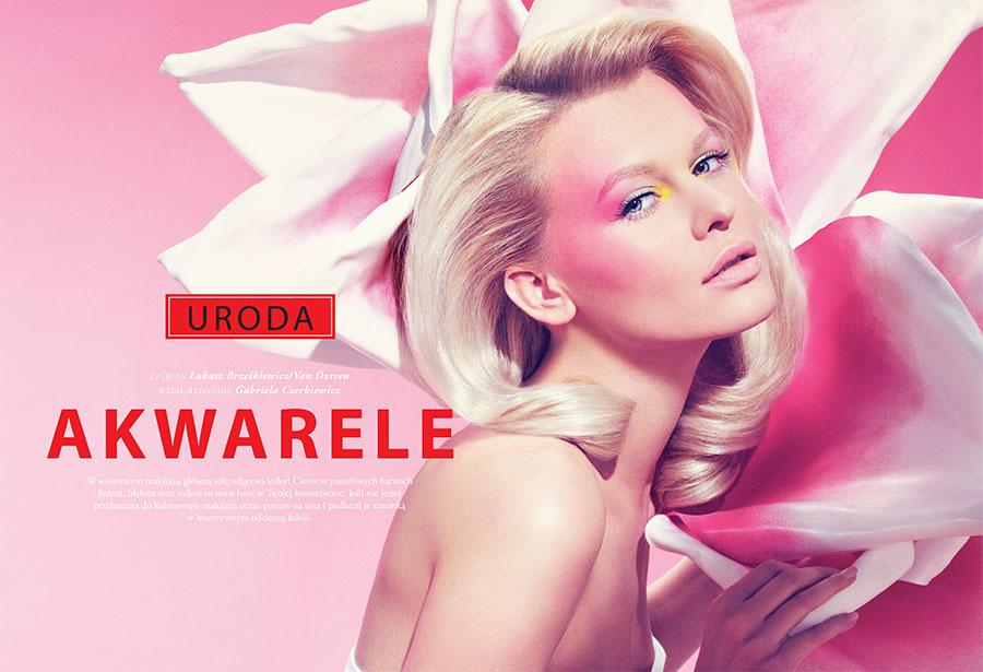 Akwarele by Lukasz Brzeskiewicz for Fashion Magazine Poland