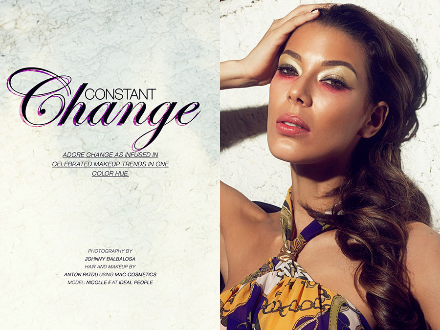 Beauty Exclusive Constant Change by Johnny Balbalosa