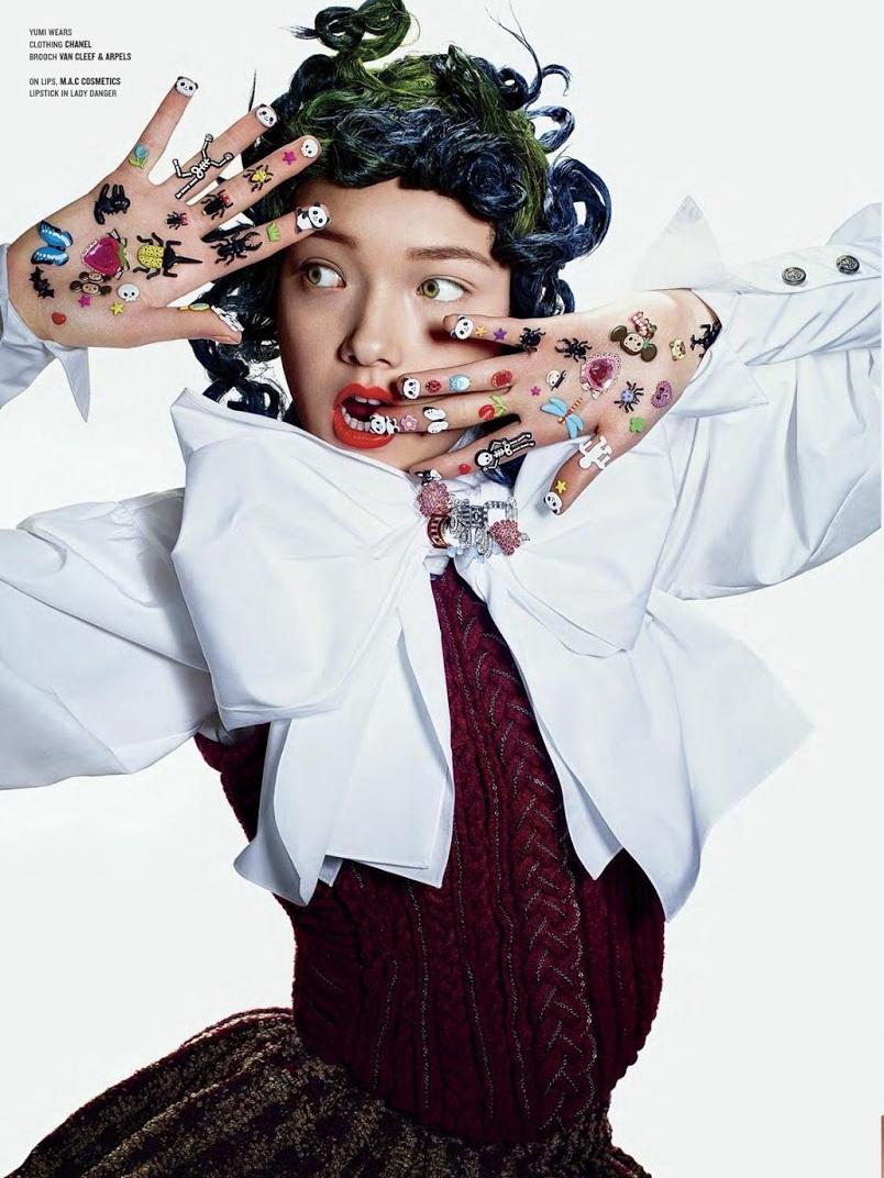 Yumi Lambert, Xiao Wen & Sung Hee Kim by Richard Burbridge - Beauty And The Bling 2