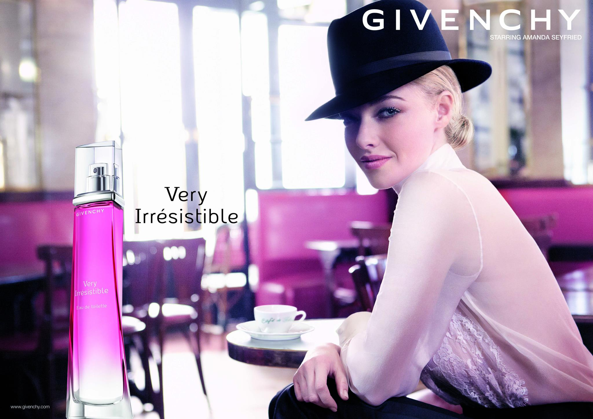 amanda seyfried givenchy very irresistible
