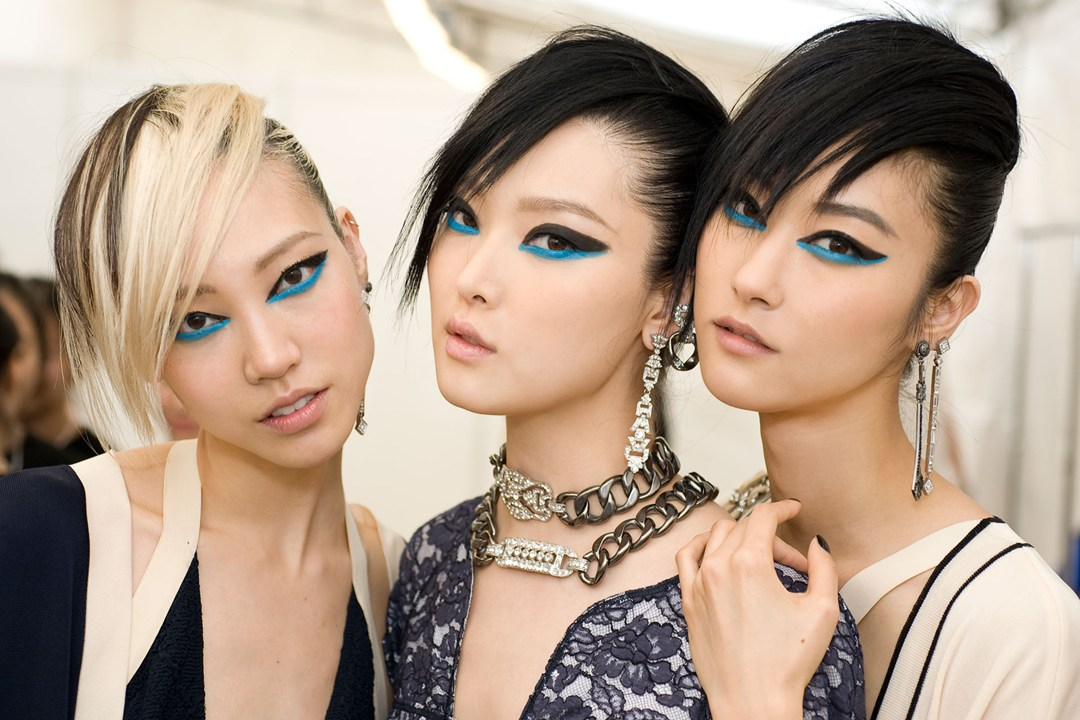 chanel backstege beauty look