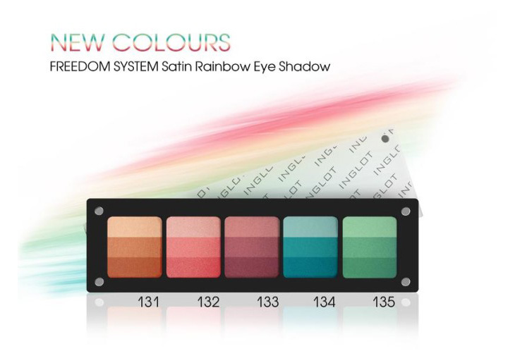 inglor Colour-Play-Satin-Rainbow-Eyeshadow