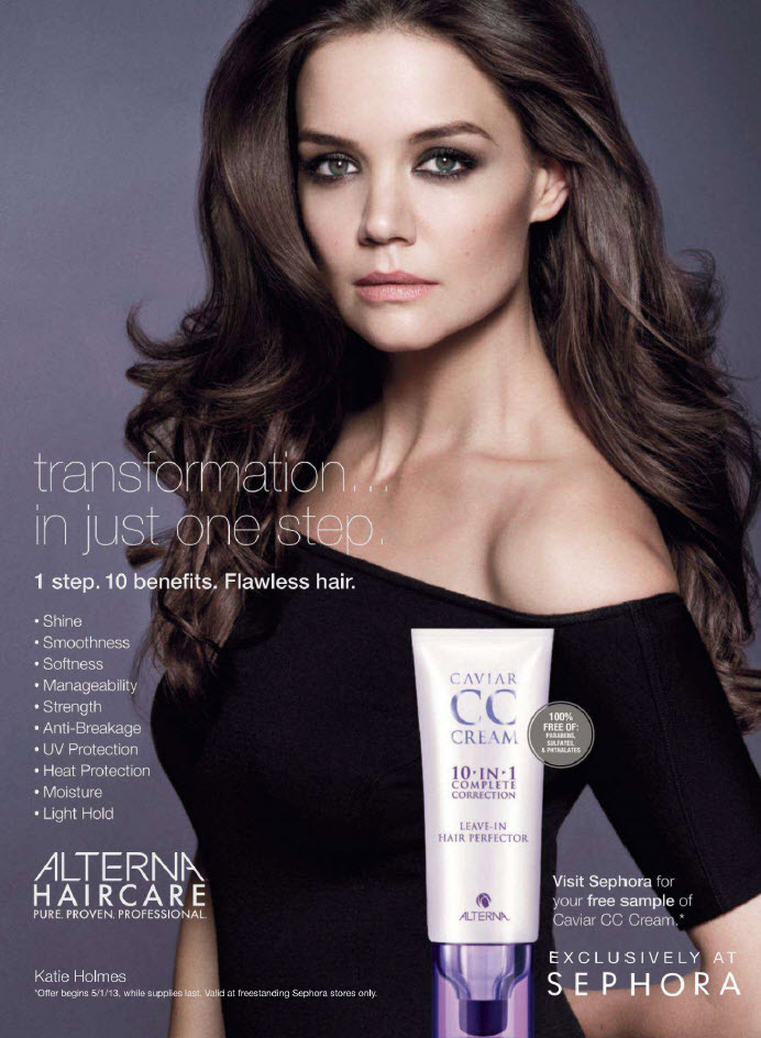 ... Cream Leave-in Hair Perfector . That's right, a CC cream for hair