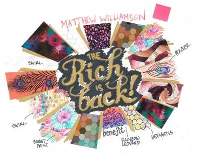 matthew williamson benefit rich is back