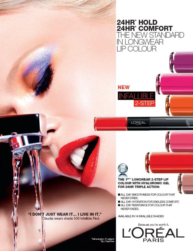 Claudia_Schiffer_Infallible_Longwear_Lipstick_Campaign