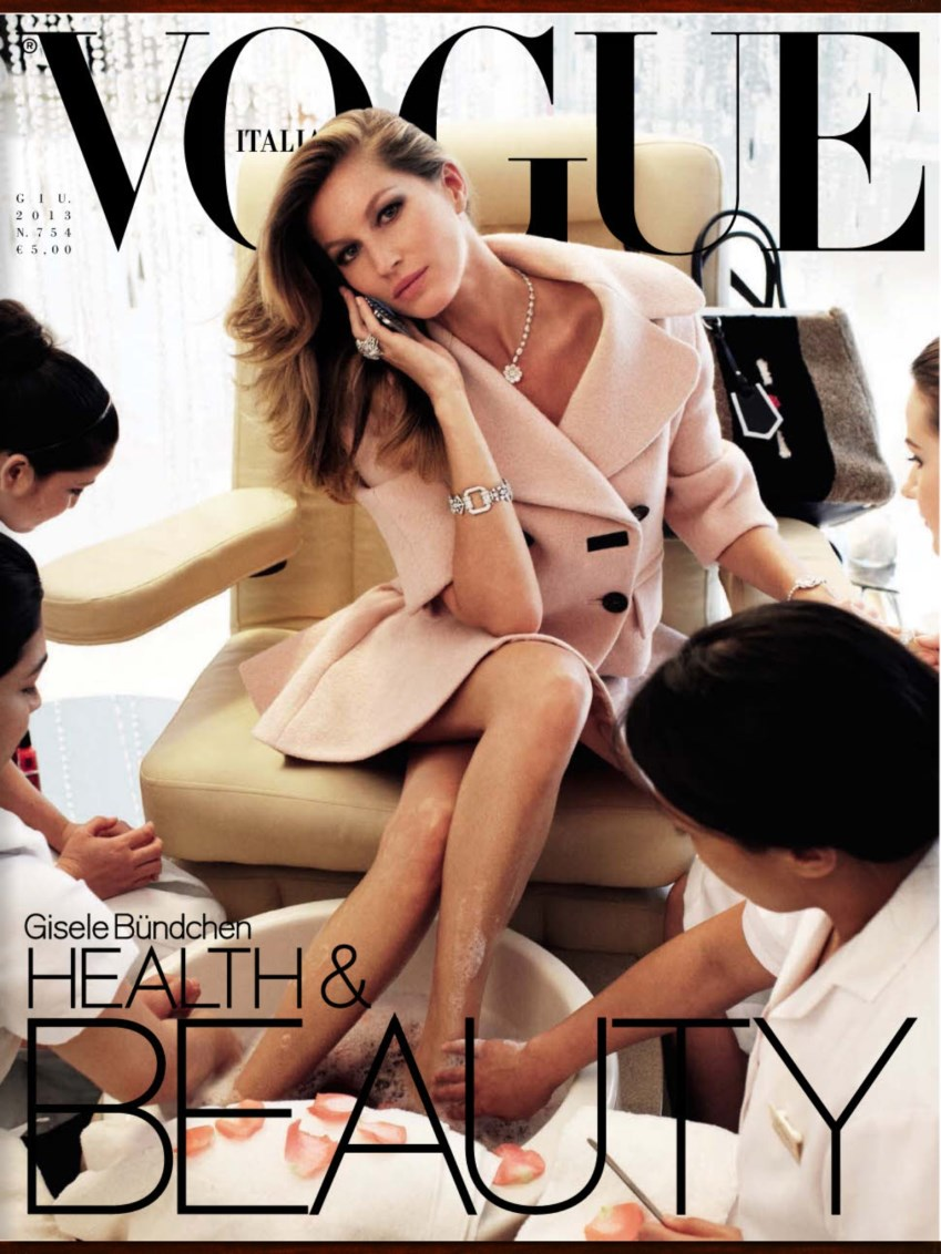 GIsele Bundchen by Steven Meisel for Vogue Italia June 2013