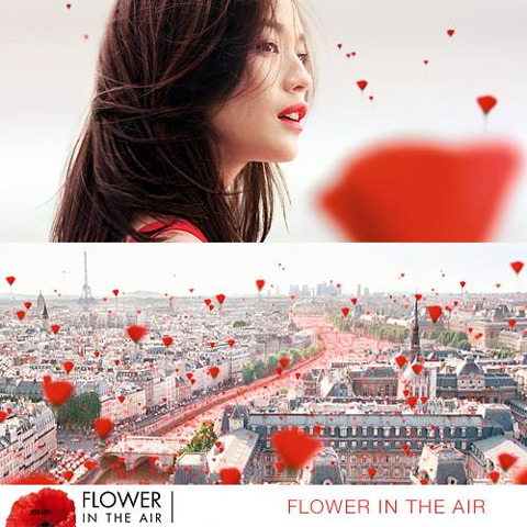 Kenzo Flower in the Air will be available as 30, 50 and 100 Eau de