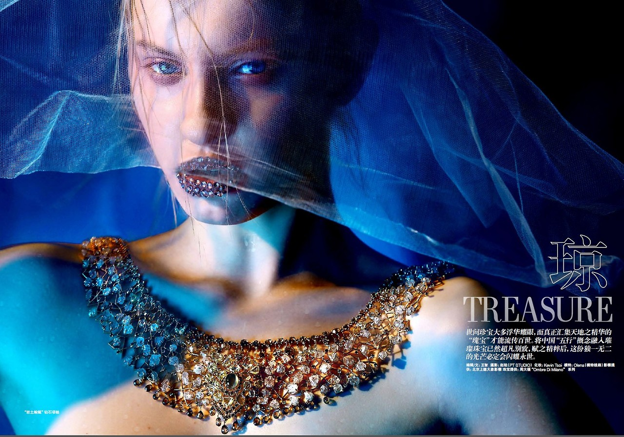 Treasure by Kevin Tsoi for L'officiel China June 2013