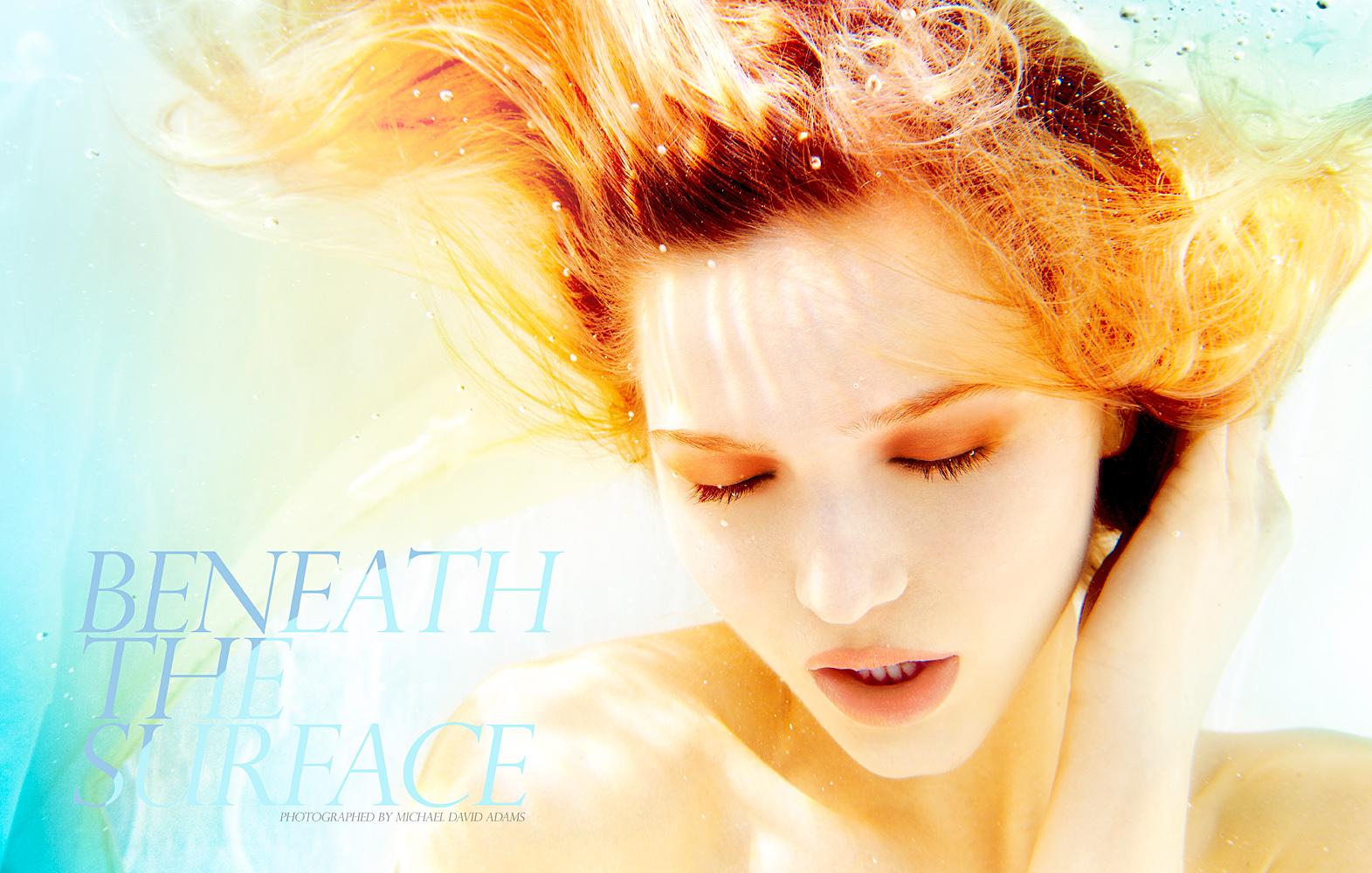 Beneath Surface Michael David Adams