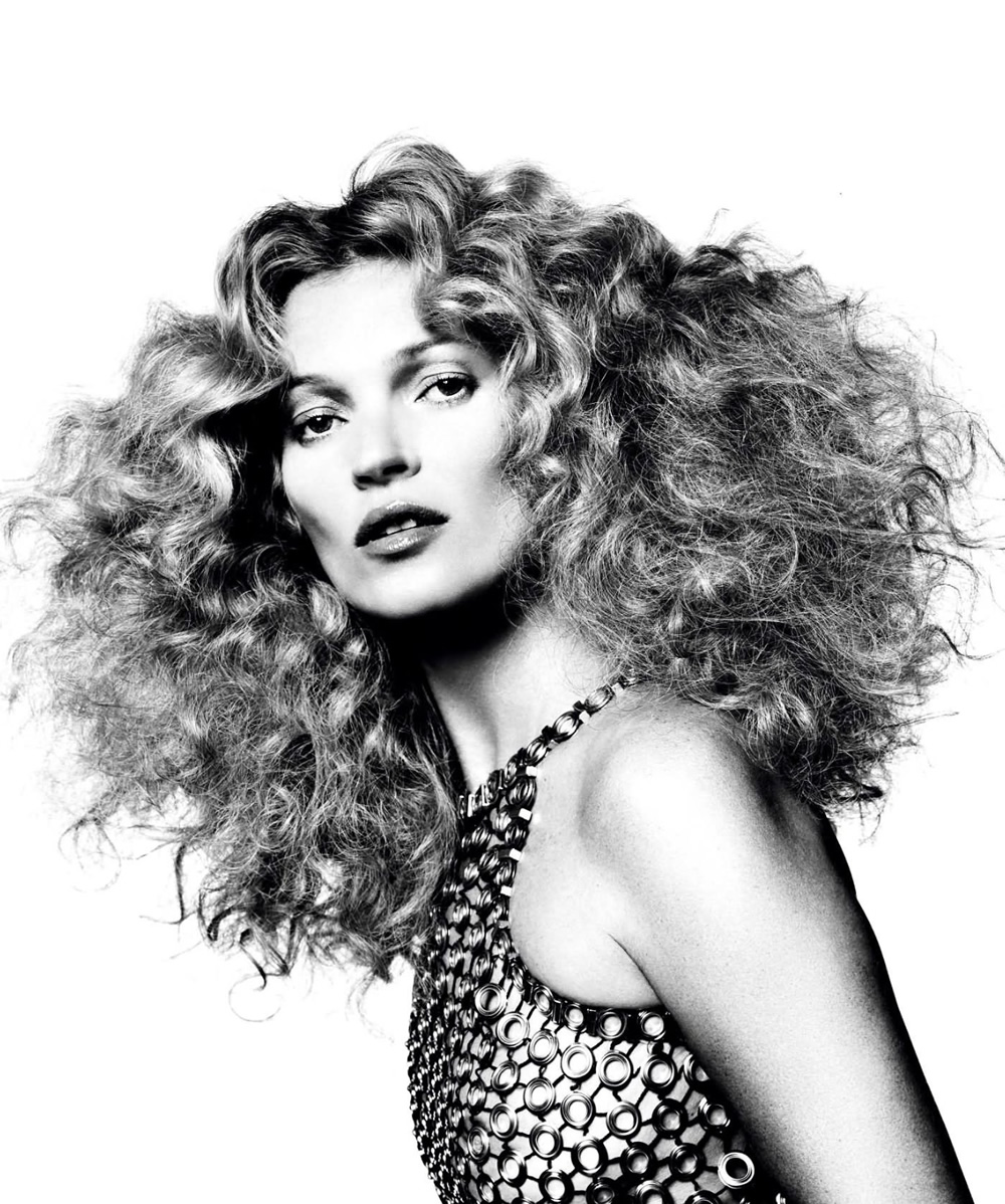 Kate Moss by David Bailey for Vogue Paris August 2013