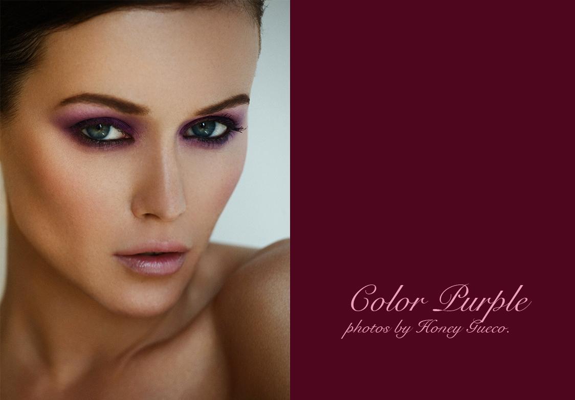 Color Purple by Honey Gueco