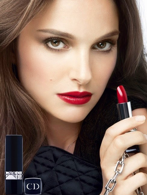 Natalie portman rouge dior campaign fall 2013