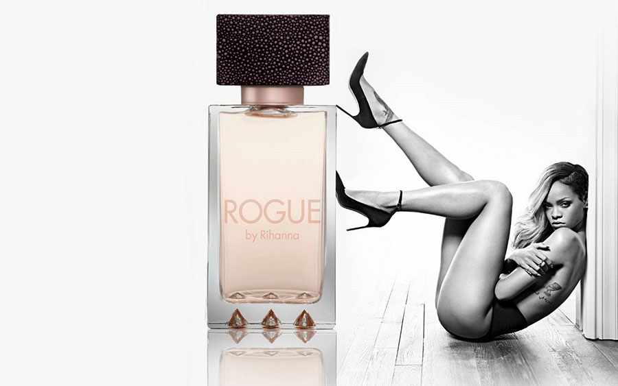 rihanna for rogue by rihanna campaign