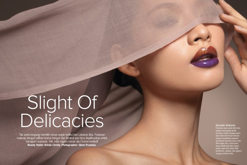 SLIGHT OF DELICACIES by Glenn Prasetya for COSMOPOLITAN Indonesia (1)