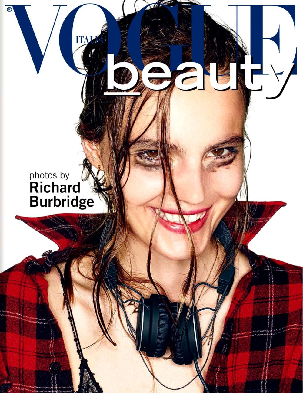 Tilda Lindstam by Richard Burbridge for Vogue Italia August 2013