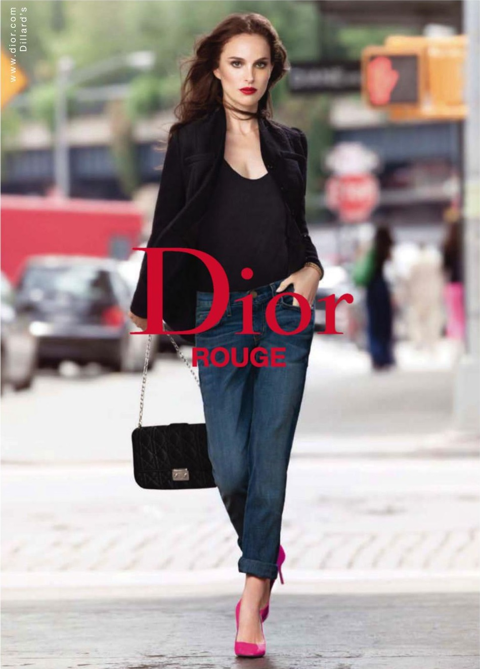 Natalie Portman for Rouge Dior Fall Winter 2013 Campaign 2