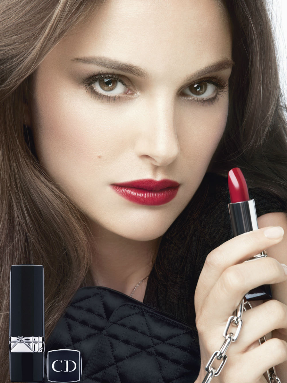 Natalie Portman for Rouge Dior Fall Winter 2013 Campaign