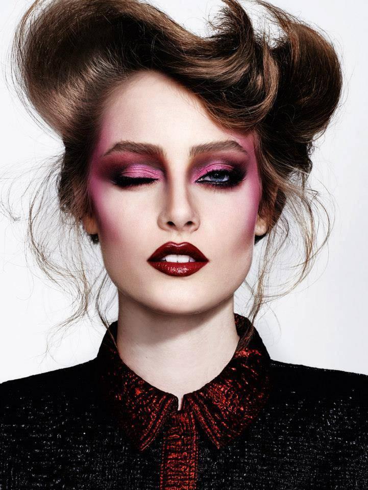 Fashion Makeup: Thairine Garcia By Nicole Heiniger For Trailer Brasil