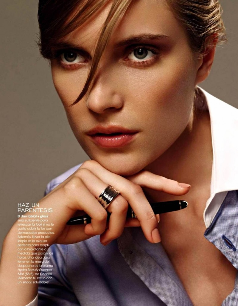 Adriane by Jonathan Miller for Elle Spain October 2013 (2)