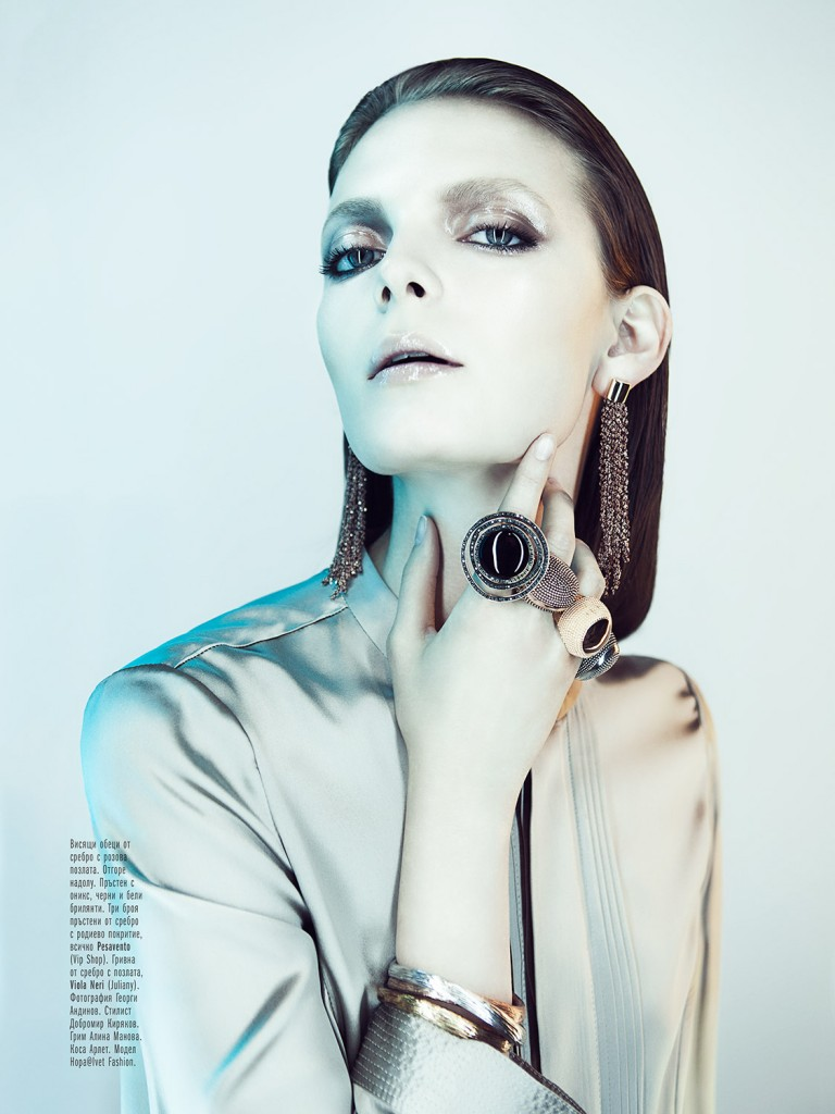Nora Shopova for Amica Magazine / Accessories Shot by Georgi Andinov