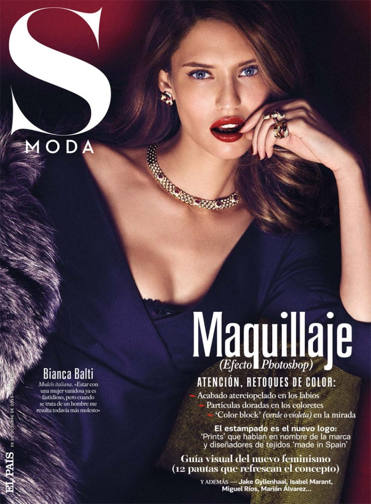 Bianca Balti by Alvaro Beamud Cortes for S Moda October 2013
