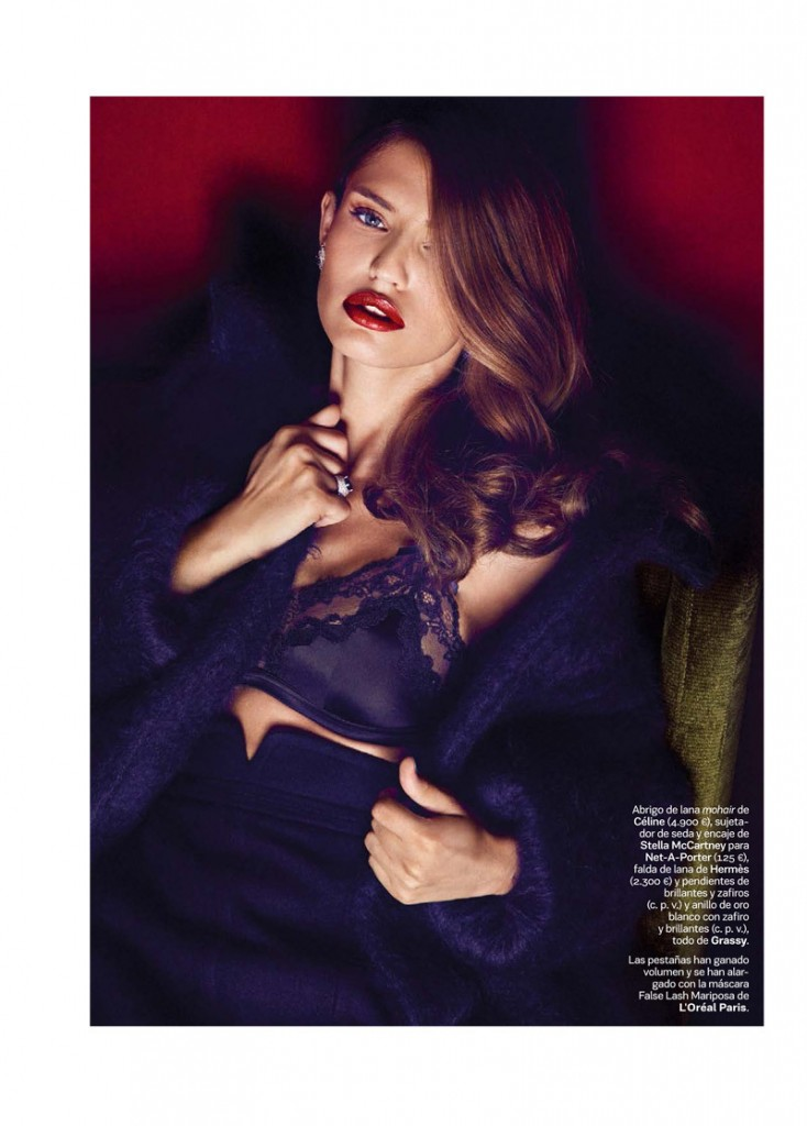 Bianca Balti by Alvaro Beamud  for S Moda October 2013 (2)