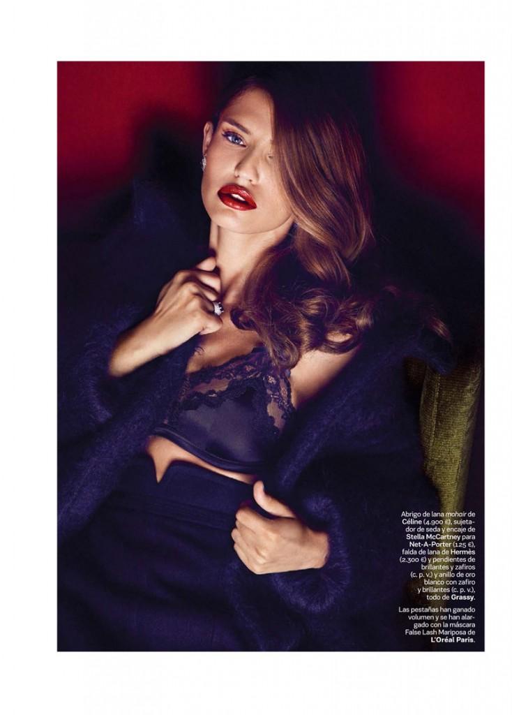 Bianca Balti by Alvaro Beamud  for S Moda October 2013 (2)