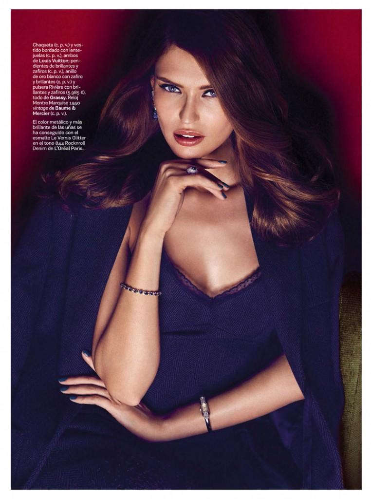 Bianca Balti by Alvaro Beamud  for S Moda October 2013 (3)