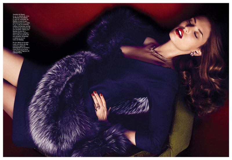 Bianca Balti by Alvaro Beamud  for S Moda October 2013 (4)