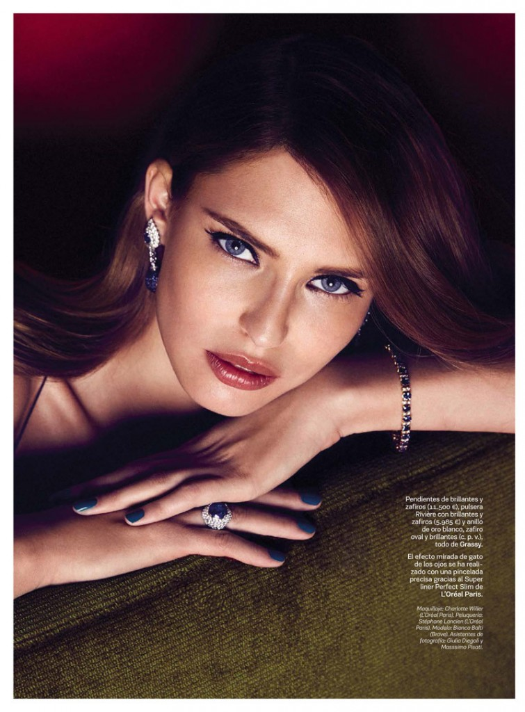 Bianca Balti by Alvaro Beamud  for S Moda October 2013 (5)