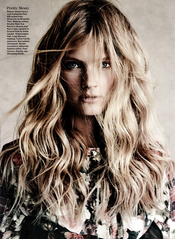 Constance Jablonski by Patrick Demarchelier for Allure  (3)