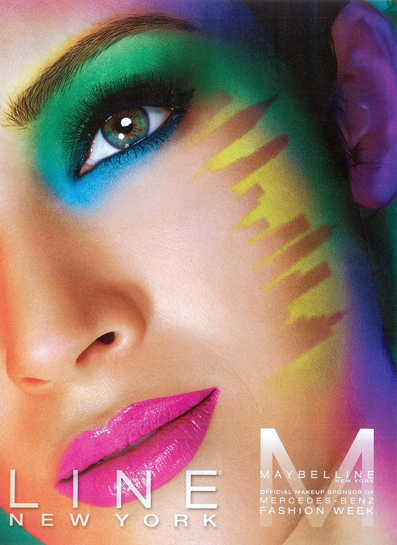 Daniela de Jesus for the Maybelline New York AW2013 campaign