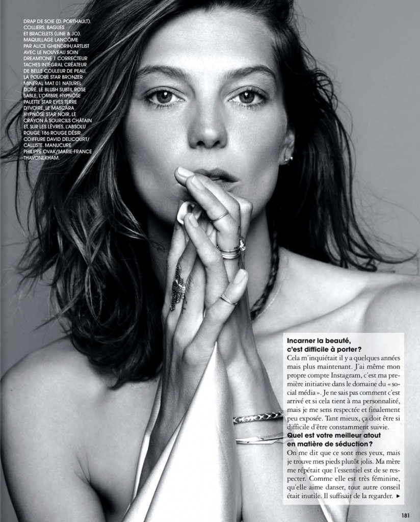 Daria Werbowy for Marie Claire France November 2013 (2)