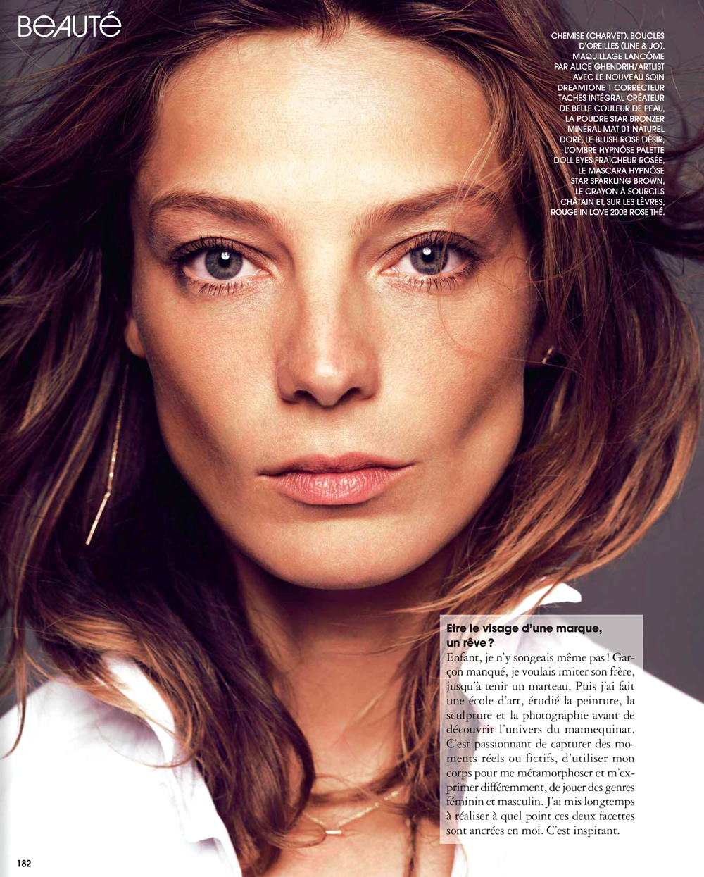 Daria Fashion: Daria Werbowy By Nico For Marie Claire France November 2013