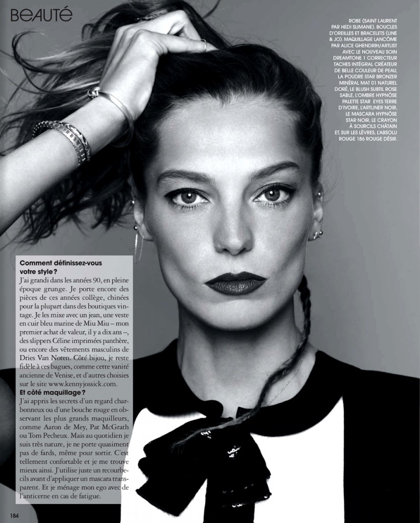 Daria Werbowy for Marie Claire France November 2013 (5)