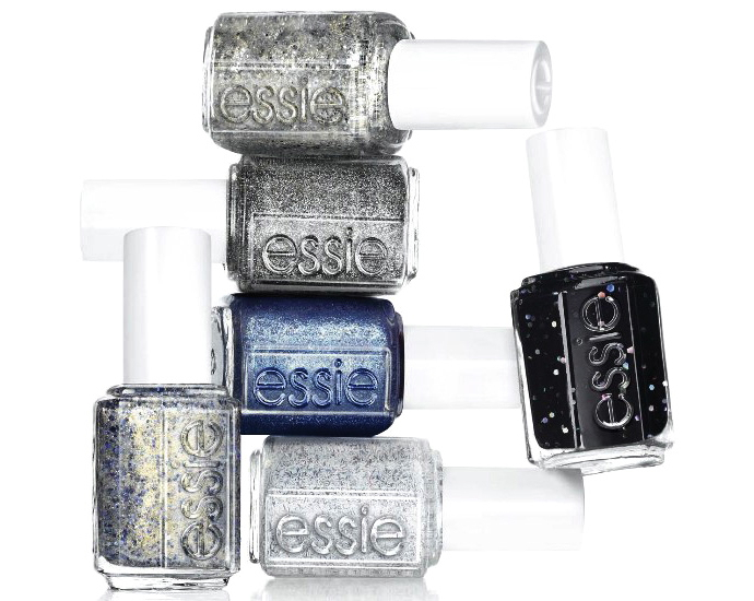 Essie encrusted treasures collection for holiday 2013