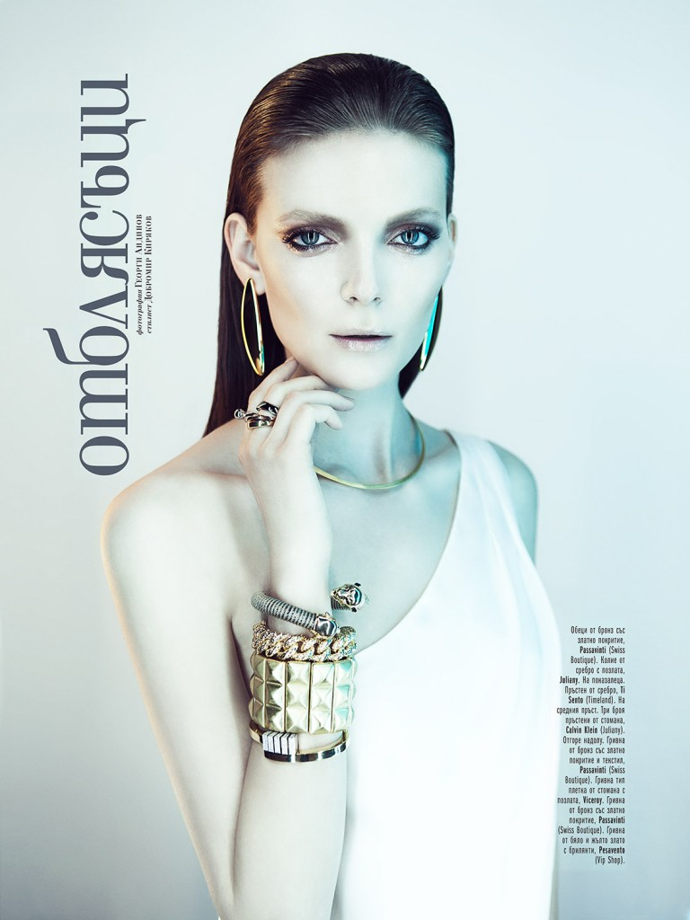 Nora Shopova for Amica Magazine / AccessoriesShot by Georgi Andinov