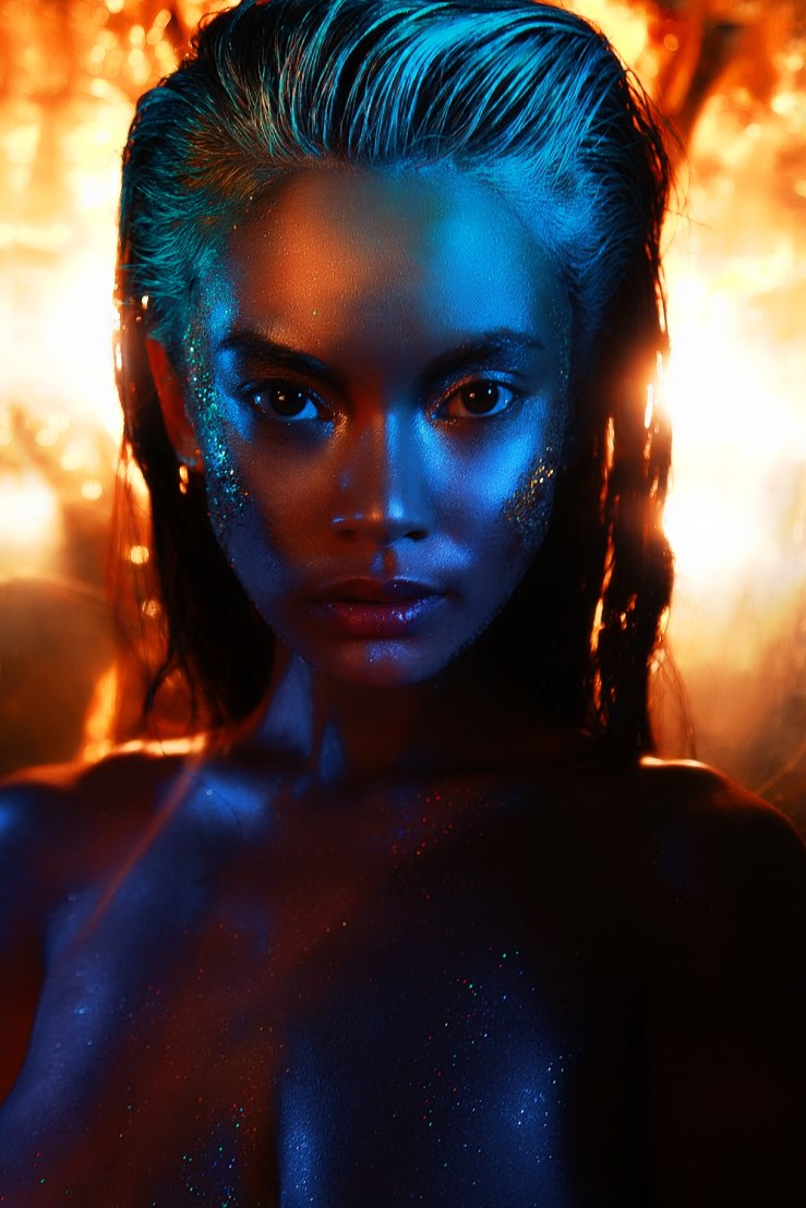 Ring Of Fire By Maciej Bernas For Make Up Trendy Magazine
