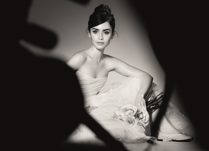 Lily Collins is the new Face of Lancôme