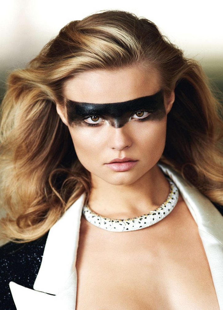 Magdalena Frackowiak by Gilles Bensimon for Vogue Paris November 2013