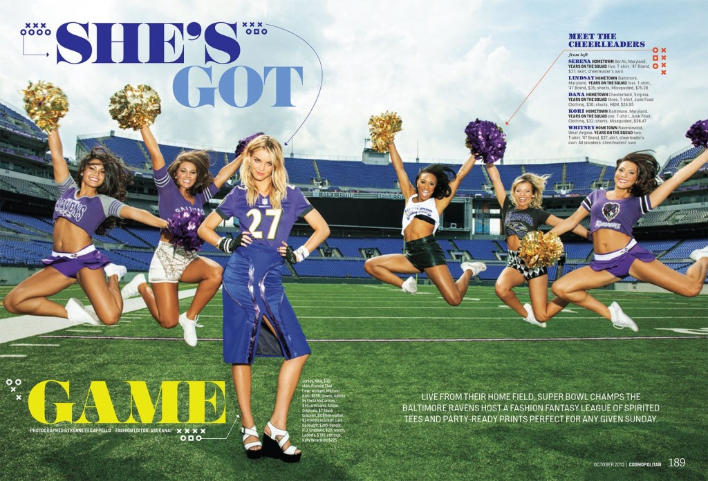 Miss Pop's got game for Cosmo and CoverGirl (5)
