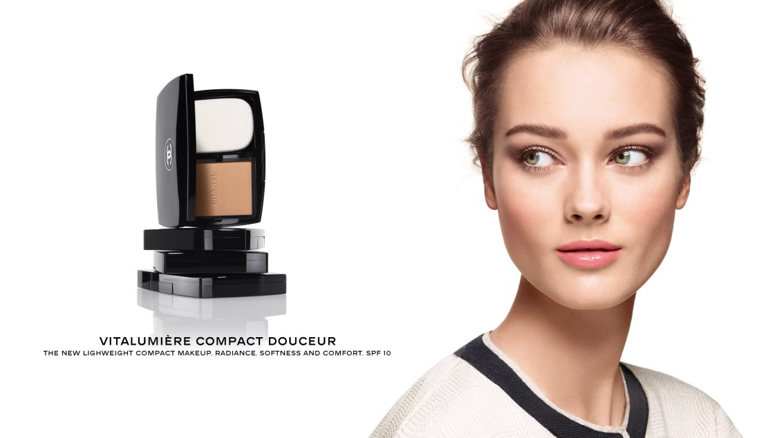 Monika Jagaciak Chanel Fall Vitalumi Compact