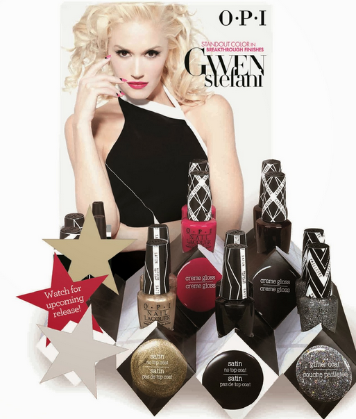 OPI Teams Up with Gwen Stefani on New Collection