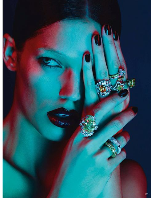 Samantha Gradoville by Ben Hassett for Vogue Germany November 2013 (1)
