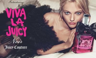 Sasha Pivovarova by Inez & Vinoodh for Viva La Juicy Noir Campaign